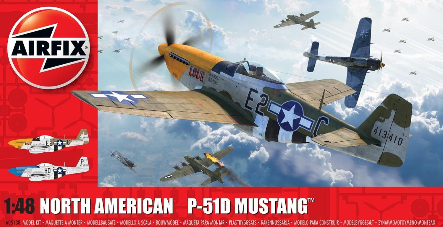 Airfix North American P-51D Mustang 1:48 A05138