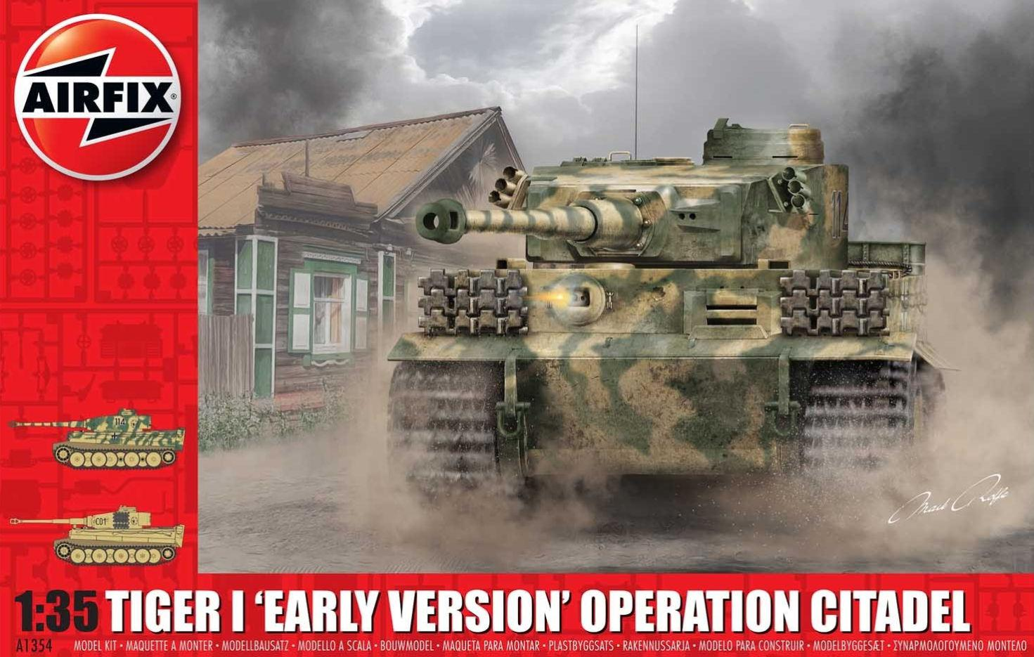 Airfix Tiger 1 Early Version - Operation Citadel 1:35 A1354