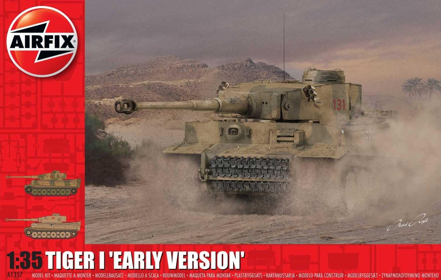 Airfix Tiger 1 Early Production Version 1:35 A1357