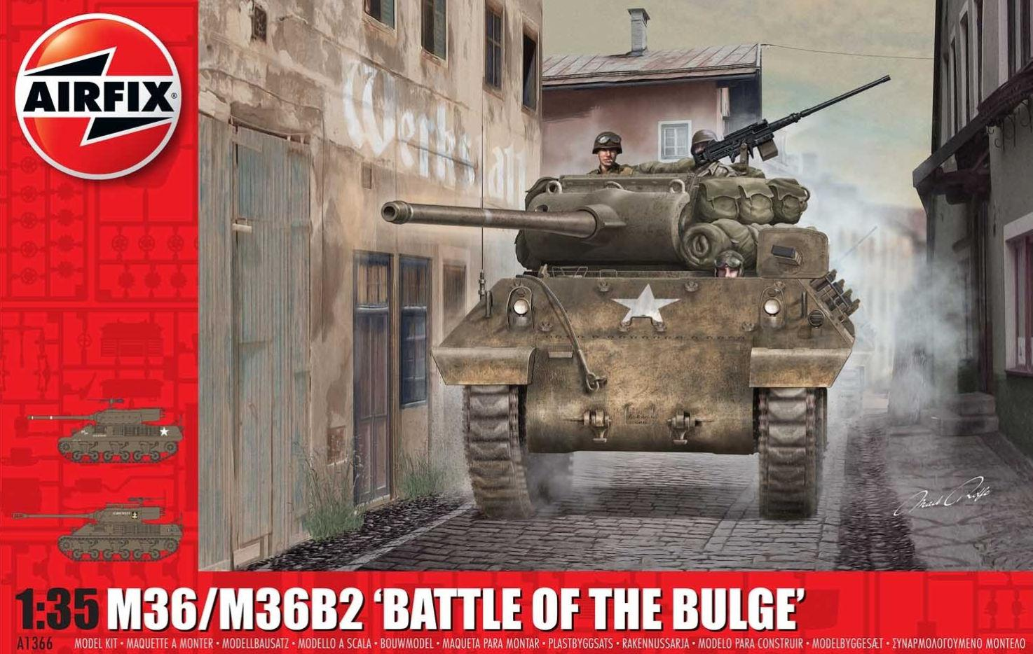 Airfix M36/M36B2 Battle of the Bulge 1:35 A1366