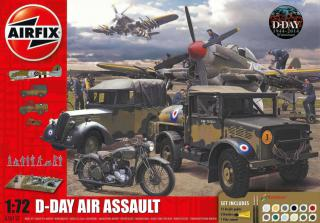 Airfix D-Day 75th Anniversary Air Assault Gift Set diorama 1:72 A50157A