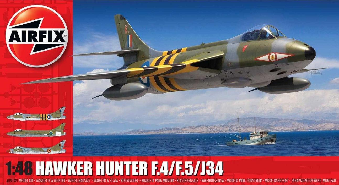 Airfix Hawker Hunter F.4/F.5/J.34 1:48 A09189
