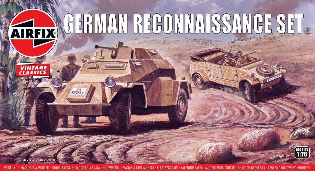 Airfix German Reconnaisance Set 1:76 A02312V