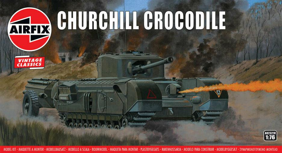 Airfix Churchill Crocodile 1:76 A02321V