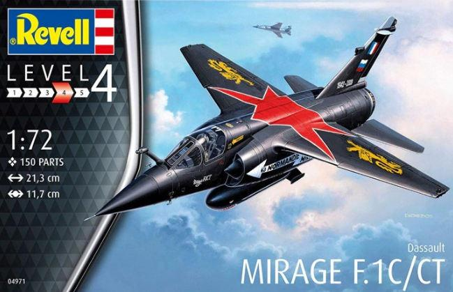 Revell Mirage F.1C/CT 1:72 04971