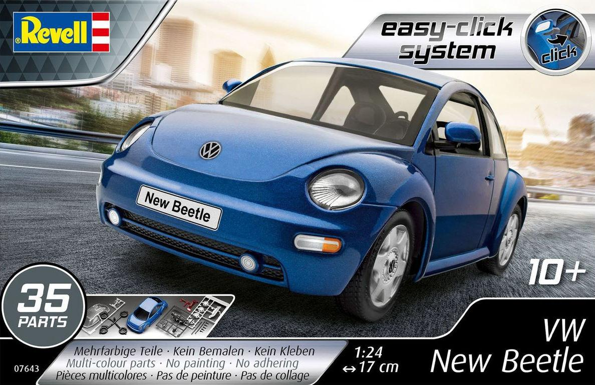 Revell VW New Beetle Easy Click 1:24 07643