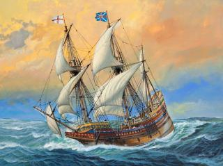 Revell Mayflower 400th Anniversary 1:83 05684