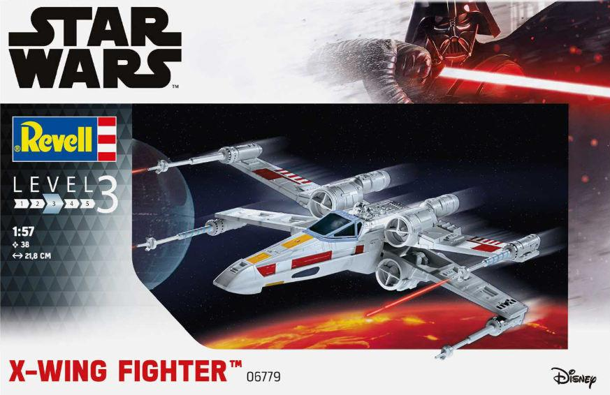 Revell X-wing Fighter 1:57 06779
