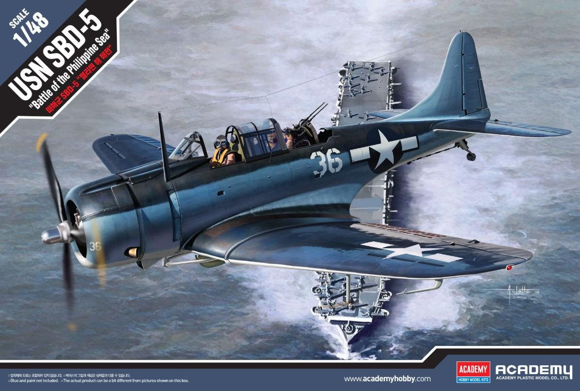Academy USN SBD-5 Battle of the Philippine Sea 1:48 12329