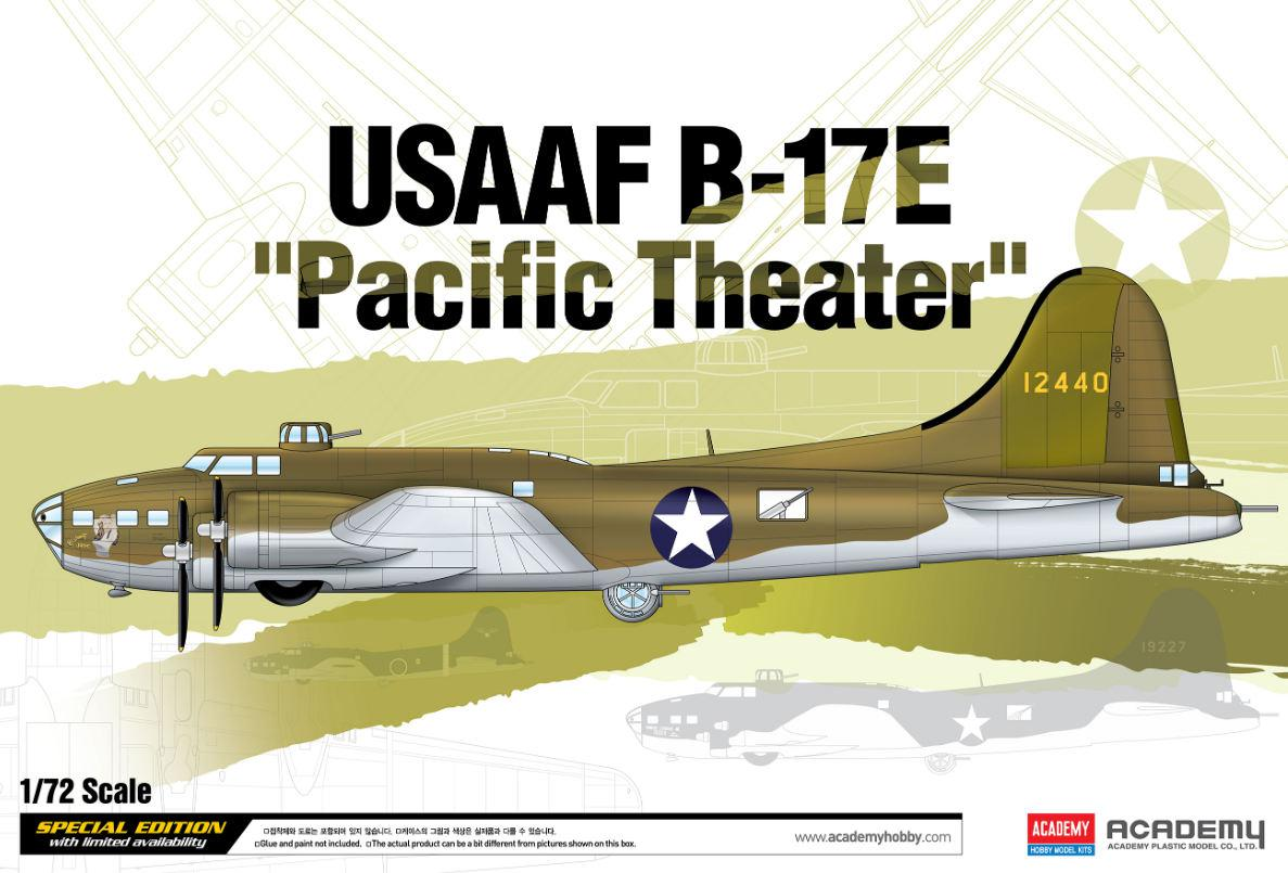 Academy USAAF B-17E Pacific Theater 1:72 12533
