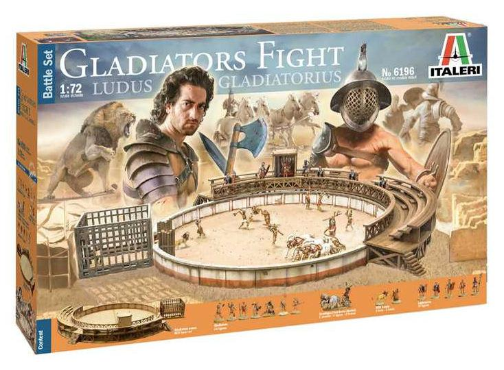 Italeri diorama Gladiators Fight 1:72 6196