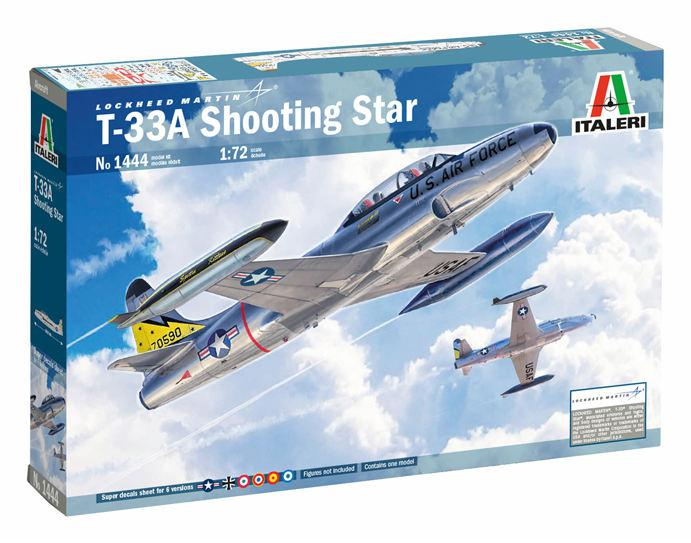 Italeri T-33A Shooting Star 1:72 1444