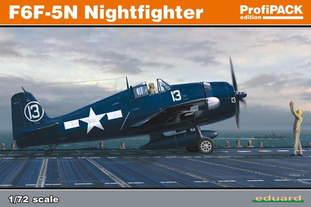 Eduard F6F-5N Nightfighter 1:72 7079