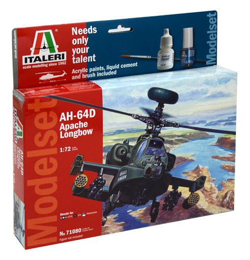 Italeri AH-64D Apache Longbow Model Set 1:72 71080