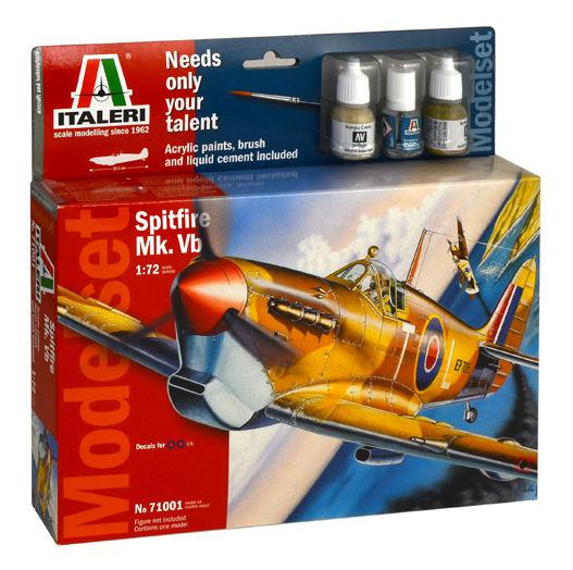 Italeri Spitfire Mk. Vb. Model Set 1:72 71001