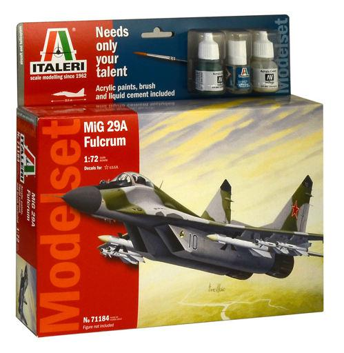 Italeri MiG-29A Fulcrum Model Set 1:72 71184