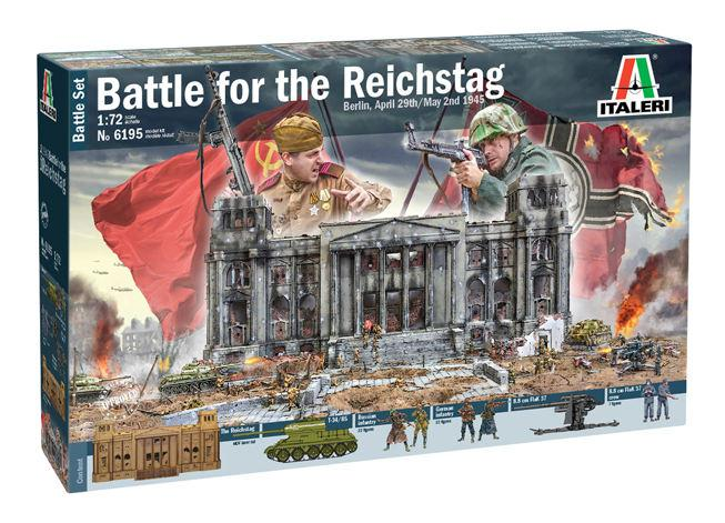 Italeri diorama Berlin 1945: Battle for the Reichstag 1:72 6195