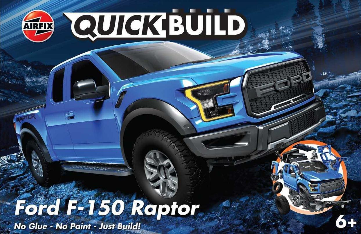 Airfix Ford F-150 Raptor Quick Build J6037