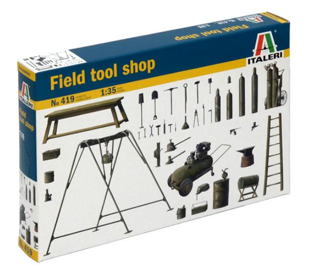 Italeri Field Tool Shop 1:35 0419