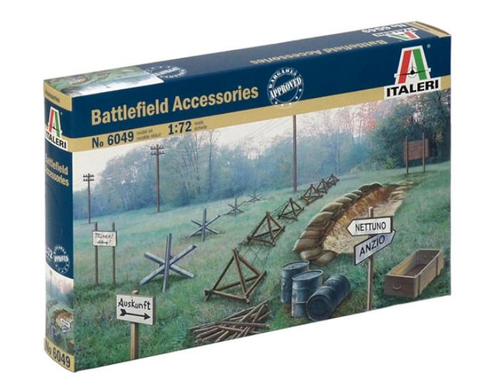 Italeri Battlefield Accessories 1:35 6049